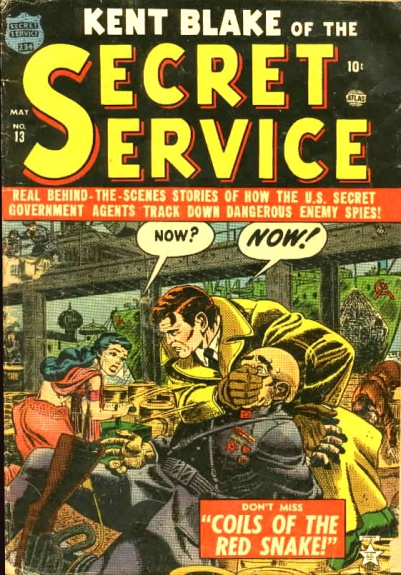 Kent Blake of the Secret Service 13 Cover Image