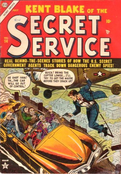 Kent Blake of the Secret Service 14 Cover Image