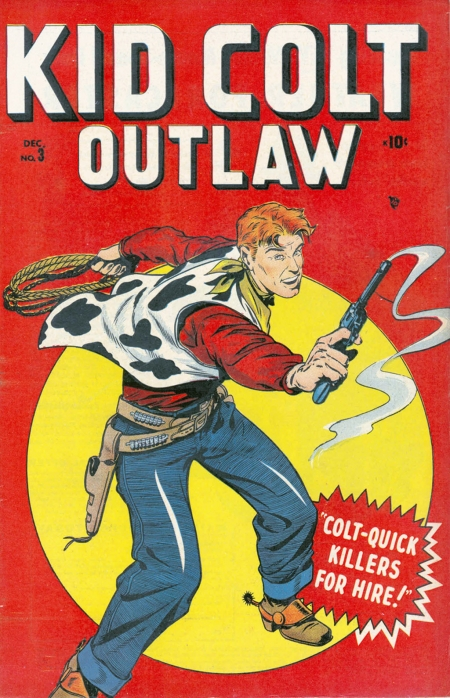 Kid Colt Outlaw 3 Cover Image