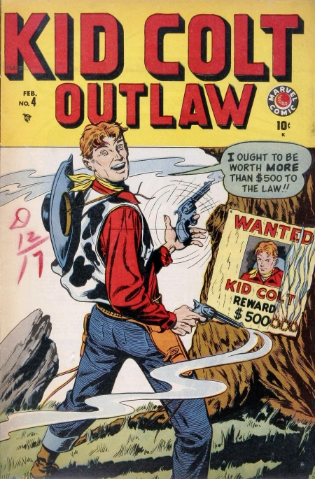 Kid Colt Outlaw 4 Cover Image