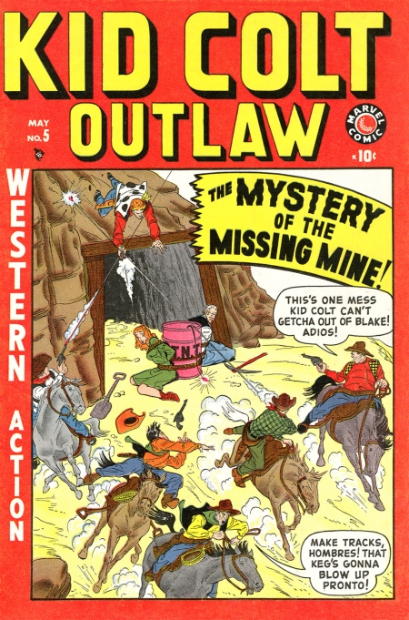 Kid Colt Outlaw 5 Cover Image