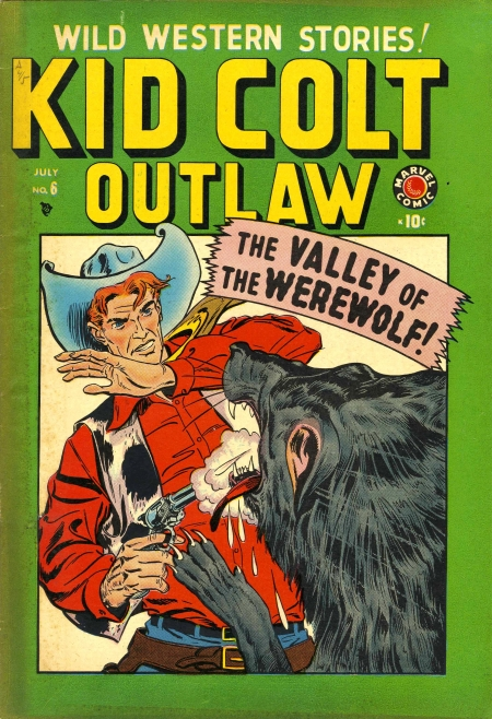 Kid Colt Outlaw 6 Cover Image