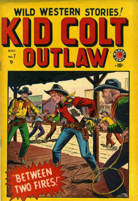 Kid Colt Outlaw 7 Cover Image