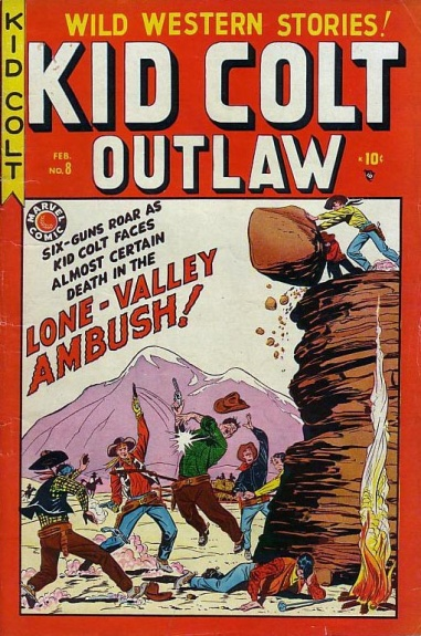 Kid Colt Outlaw 8 Cover Image