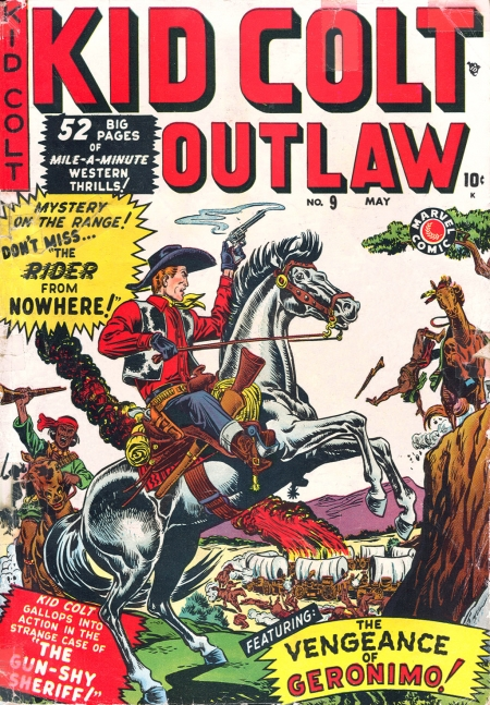 Kid Colt Outlaw 9 Cover Image
