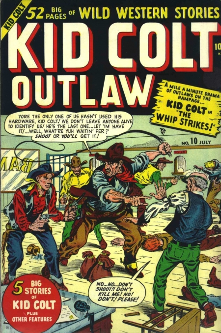 Kid Colt Outlaw 10 Cover Image