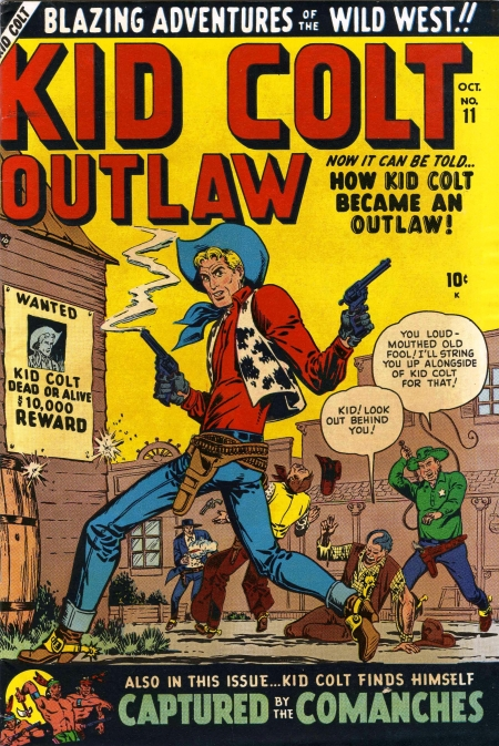 Kid Colt Outlaw 11 Cover Image