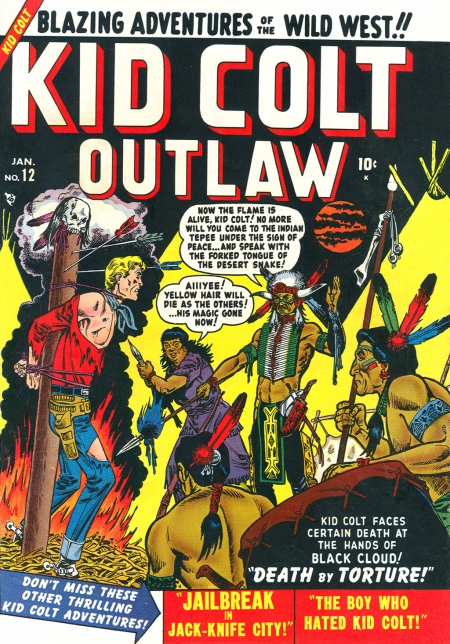 Kid Colt Outlaw 12 Cover Image