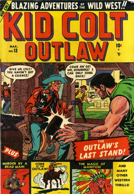 Kid Colt Outlaw 13 Cover Image