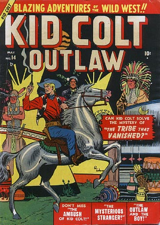 Kid Colt Outlaw 14 Cover Image