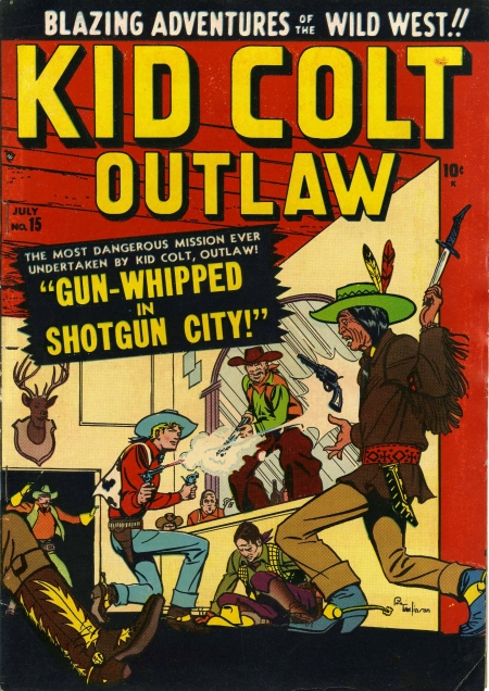 Kid Colt Outlaw 15 Cover Image