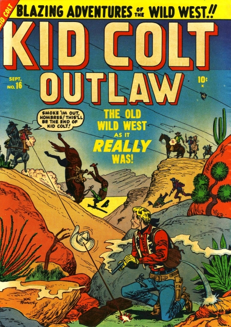 Kid Colt Outlaw 16 Cover Image