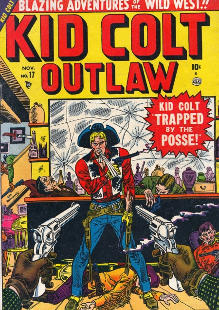 Kid Colt Outlaw 17 Cover Image