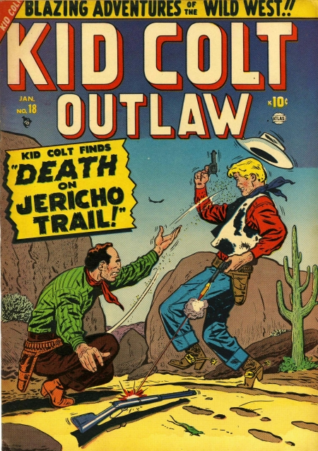 Kid Colt Outlaw 18 Cover Image