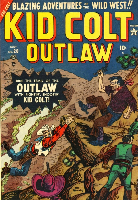 Kid Colt Outlaw 20 Cover Image