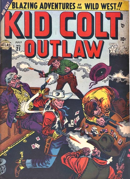 Kid Colt Outlaw 21 Cover Image