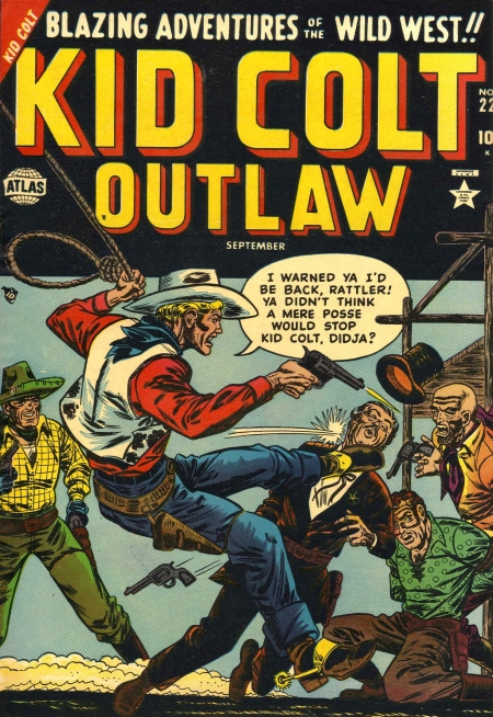 Kid Colt Outlaw 22 Cover Image