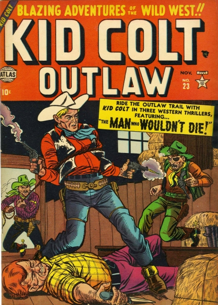 Kid Colt Outlaw 23 Cover Image