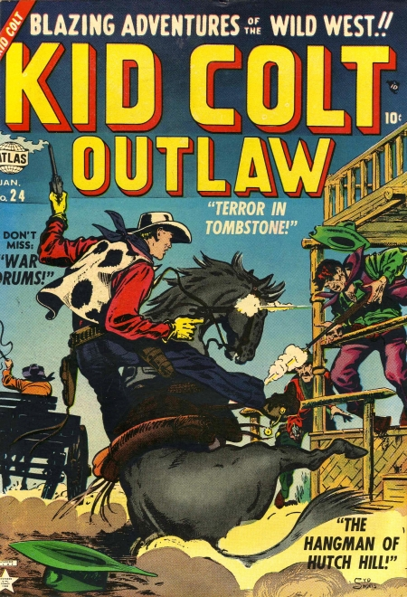 Kid Colt Outlaw 24 Cover Image