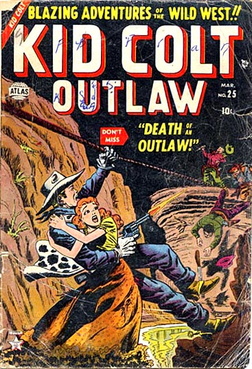 Kid Colt Outlaw 25 Cover Image