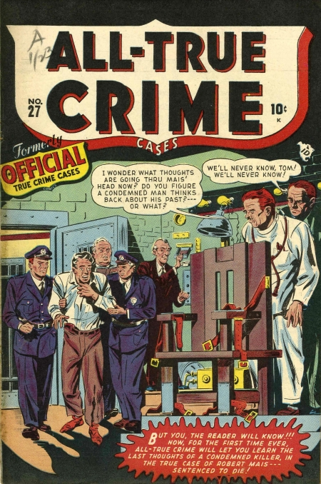 All True Crime Cases Comics 27 Cover Image