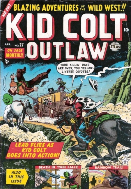 Kid Colt Outlaw 27 Cover Image