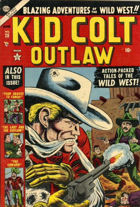 Kid Colt Outlaw 28 Cover Image