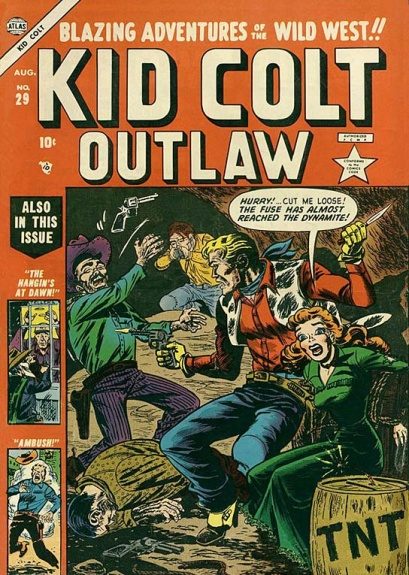 Kid Colt Outlaw 29 Cover Image