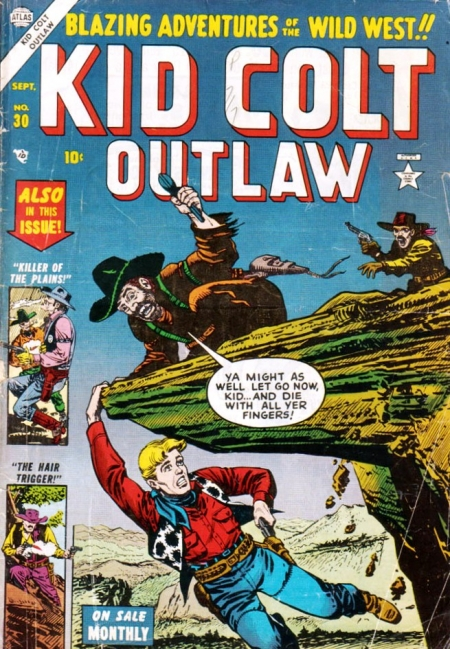Kid Colt Outlaw 30 Cover Image