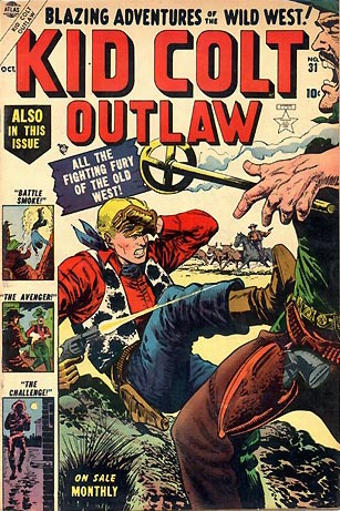 Kid Colt Outlaw 31 Cover Image
