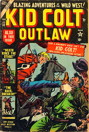 Kid Colt Outlaw 32 Cover Image