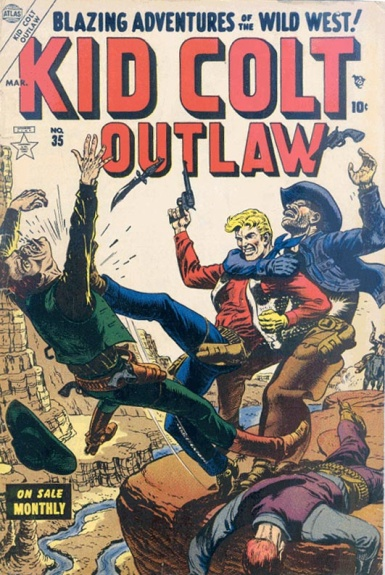 Kid Colt Outlaw 35 Cover Image