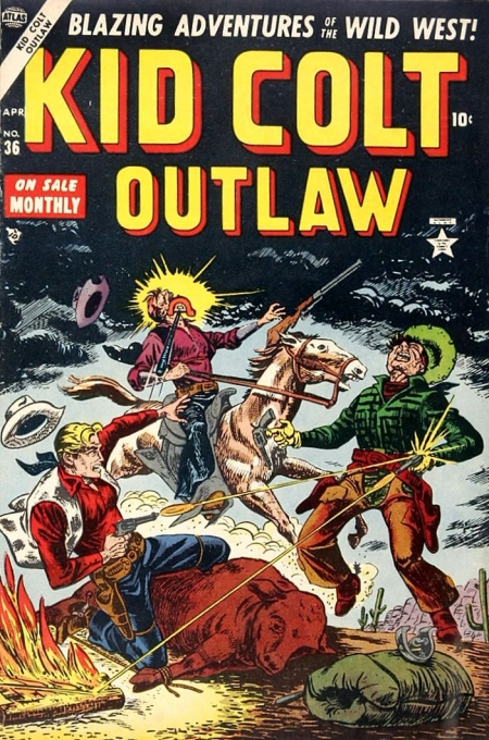 Kid Colt Outlaw 36 Cover Image