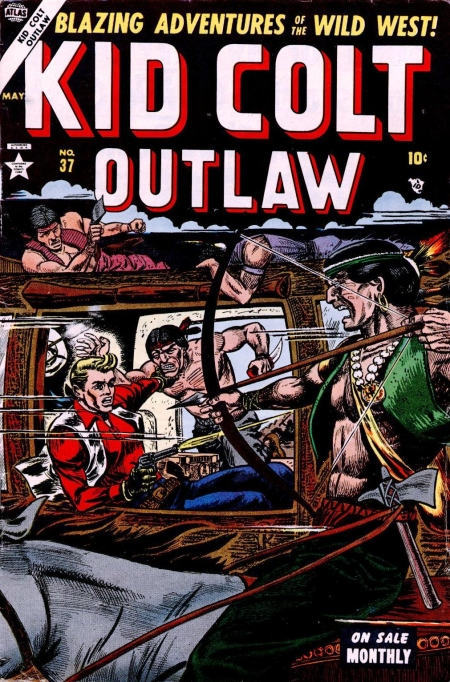Kid Colt Outlaw 37 Cover Image