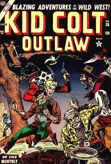 Kid Colt Outlaw 38 Cover Image
