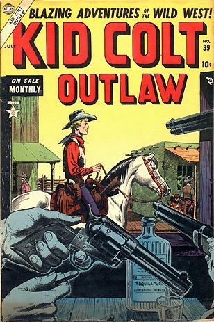 Kid Colt Outlaw 39 Cover Image
