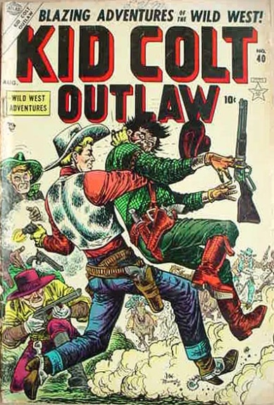 Kid Colt Outlaw 40 Cover Image