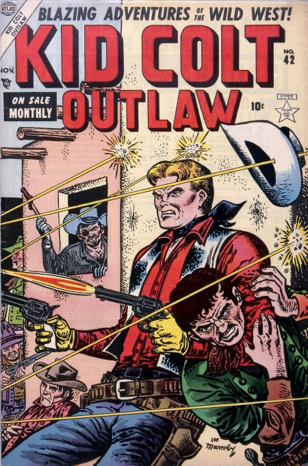 Kid Colt Outlaw 42 Cover Image