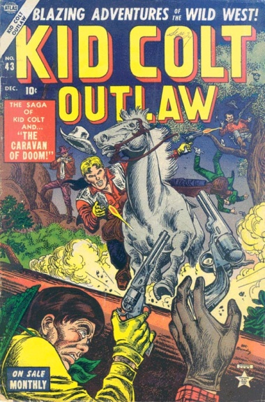 Kid Colt Outlaw 43 Cover Image