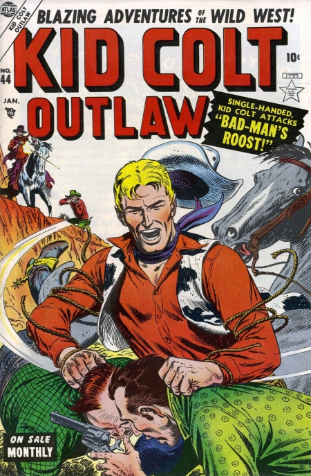 Kid Colt Outlaw 44 Cover Image