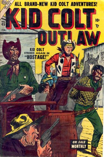 Kid Colt Outlaw 45 Cover Image