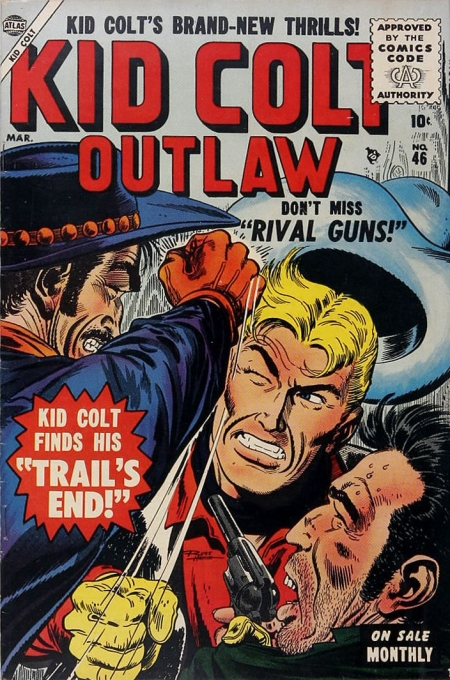 Kid Colt Outlaw 46 Cover Image