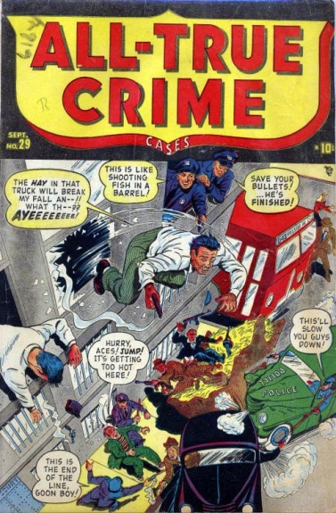 All True Crime Cases Comics 29 Cover Image