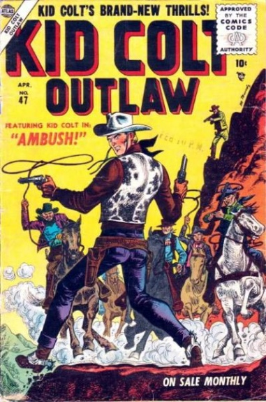 Kid Colt Outlaw 47 Cover Image