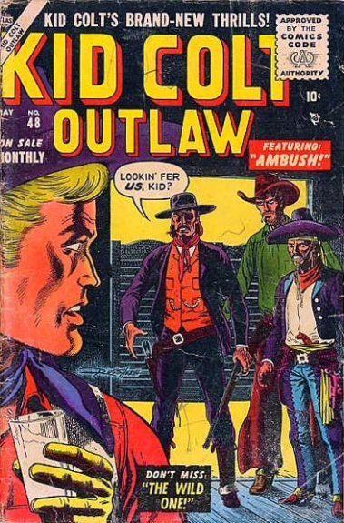 Kid Colt Outlaw 48 Cover Image