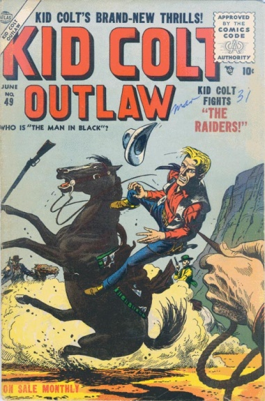 Kid Colt Outlaw 49 Cover Image