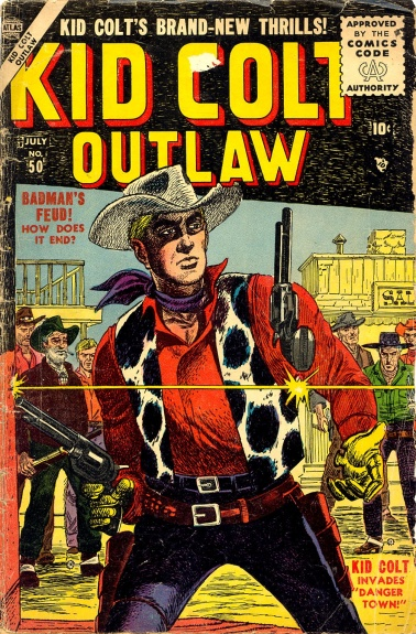 Kid Colt Outlaw 50 Cover Image