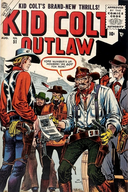 Kid Colt Outlaw 51 Cover Image