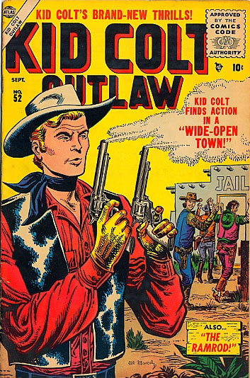 Kid Colt Outlaw 52 Cover Image