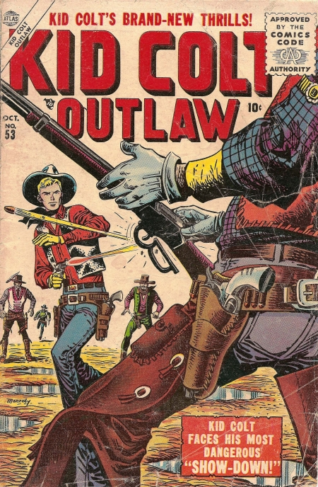 Kid Colt Outlaw 53 Cover Image